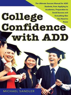 cover image of College Confidence with ADD