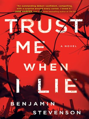 cover image of Trust Me When I Lie