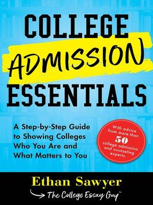 cover image of College Admission Essentials