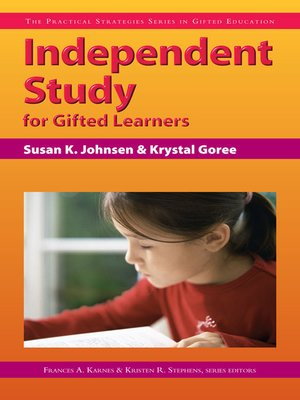cover image of Independent Study for Gifted Learners