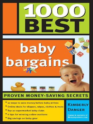 cover image of 1,000 Best Baby Bargains