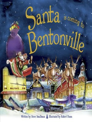 cover image of Santa Is Coming to Bentonville