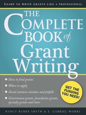 cover image of The Complete Book of Grant Writing