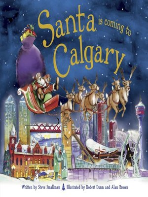 cover image of Santa Is Coming to Calgary
