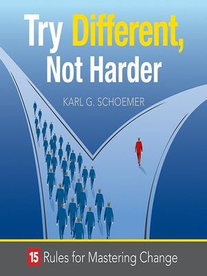 cover image of Try Different, Not Harder