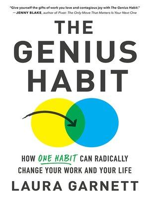 cover image of The Genius Habit
