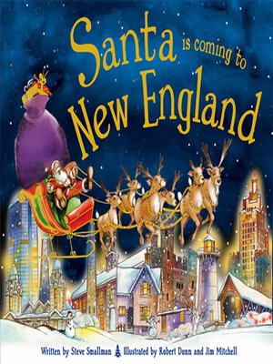 cover image of Santa Is Coming to New England
