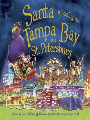 cover image of Santa Is Coming to Tampa Bay and St. Petersburg