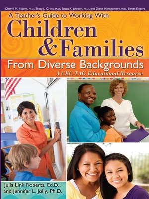 cover image of A Teacher's Guide to Working With Children and Families From Diverse Backgrounds