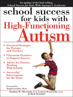 cover image of School Success for Kids with High-Functioning Autism