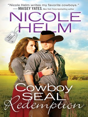 cover image of Cowboy SEAL Redemption