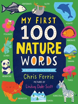 cover image of My First 100 Nature Words