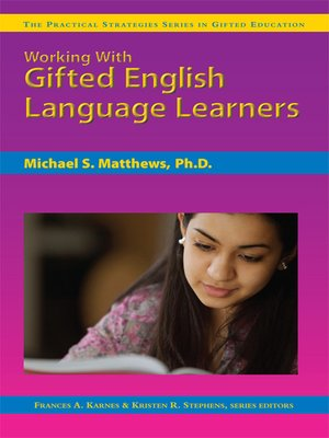 cover image of Working with Gifted English Language Learners