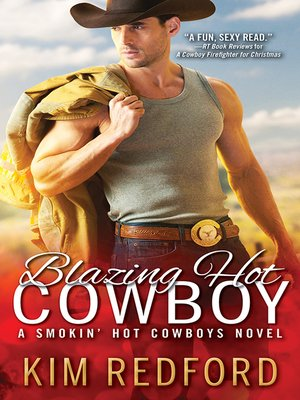 cover image of Blazing Hot Cowboy