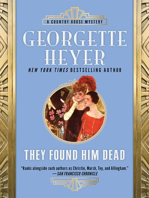 cover image of They Found Him Dead