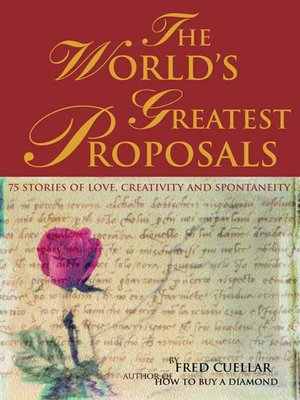 cover image of The World's Greatest Proposals