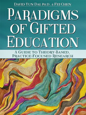 cover image of Paradigms of Gifted Education