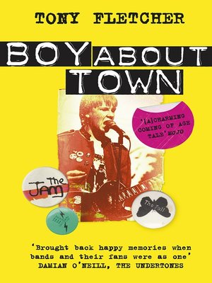 cover image of Boy About Town