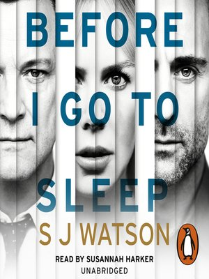 cover image of Before I Go to Sleep