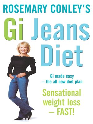 cover image of Rosemary Conley's GI Jeans Diet