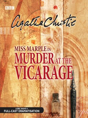 cover image of Murder At the Vicarage