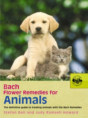 cover image of Bach Flower Remedies For Animals