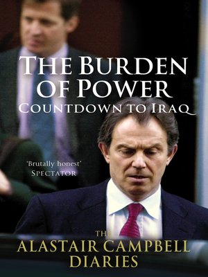 cover image of The Burden of Power