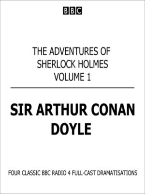 cover image of Adventures of Sherlock Holmes, Volume 1