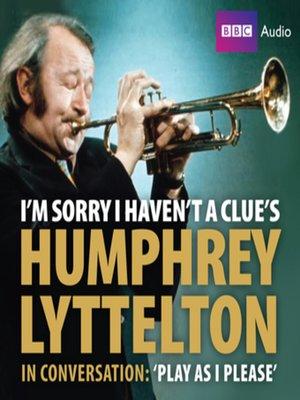 cover image of Humphrey Lyttleton's Autobiography
