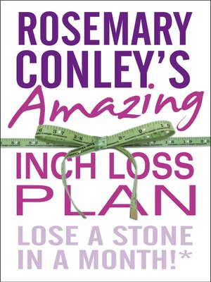 cover image of Rosemary Conley's Amazing Inch Loss Plan