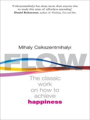 flow the psychology of optimal experience (harper perennial modern classics) epub