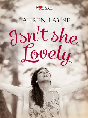 cover image of Isn't She Lovely