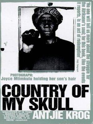 Antjie Krog Country Of My Skull Ebook
