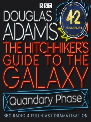cover image of Hitchhiker's Guide to the Galaxy, the  Quandary Phase