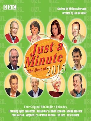 cover image of Just a Minute, Best of 2015