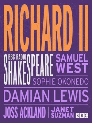cover image of Richard II (BBC Radio Shakespeare)