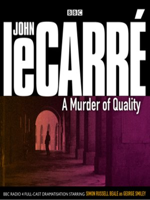 cover image of A Murder of Quality