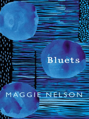 cover image of Bluets