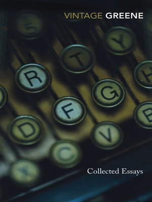 cover image of Collected Essays