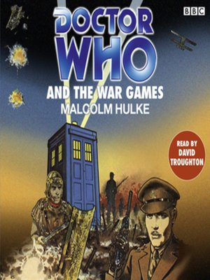 cover image of Doctor Who and the War Games