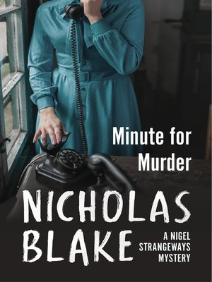 cover image of Minute for Murder
