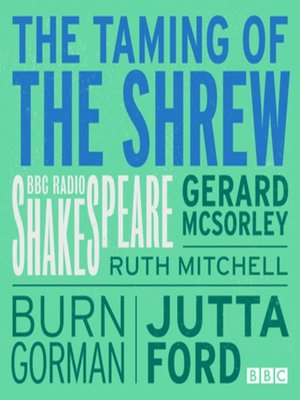 cover image of Taming of the Shrew, the  (Bbc Radio Shakespeare)