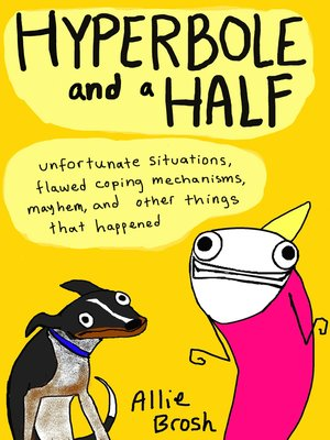 cover image of Hyperbole and a Half