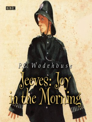 cover image of Jeeves  Joy In the Morning