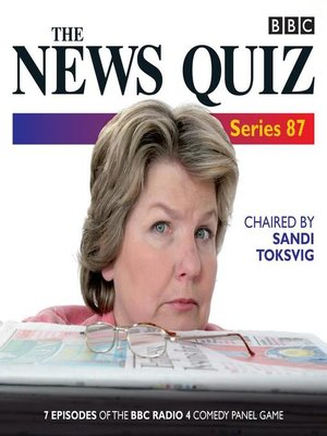 cover image of The News Quiz, Series 87