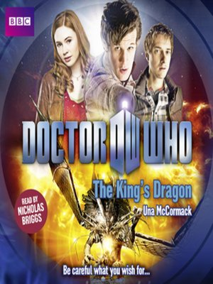 cover image of Doctor Who--The King's Dragon