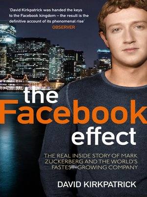 cover image of The Facebook Effect