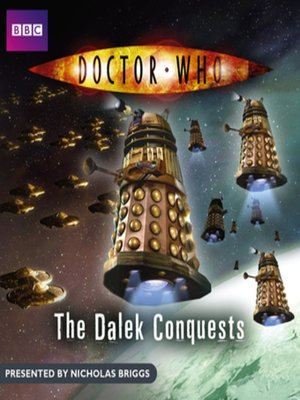 cover image of The Dalek Conquests