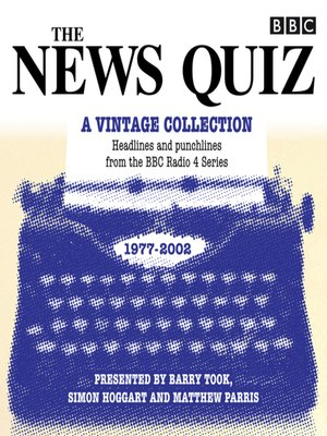 cover image of The News Quiz, A Vintage Collection
