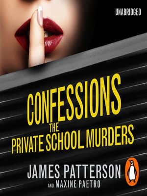 cover image of Confessions--The Private School Murders